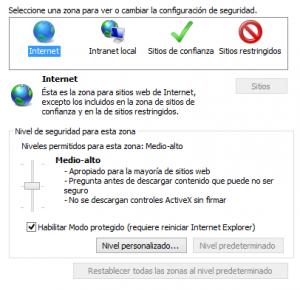 asegurar internet